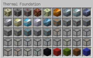Thermal Foundation - апи мода [1.12.2] [1.11.2] [1.10.2] [1.7.10]