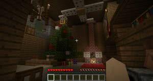 Карта Christmas Jumps - рождественские паркур испытания [1.12.2]