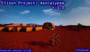 [Клиент][Survival|War|1.7.10] Elison Project: Apocalypse v. 1.0