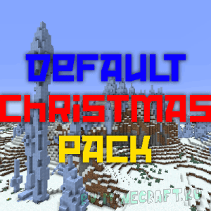 Default Christmas Pack - рождественский ресурспак [1.12.2 - 17w50a] [16px]