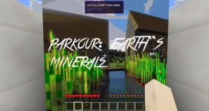 Паркур карта Parkour (Earth's Minerals) [1.12.2]