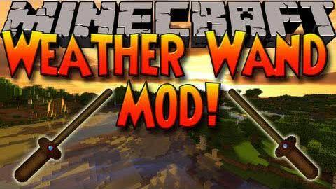 [1.6.4] Weather Wand Mod - палочка погоды