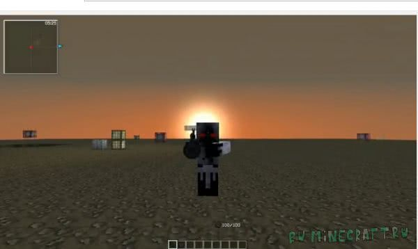 Minekov FLAN'S PACK - новое 3D оружие и броня [1.7.10]