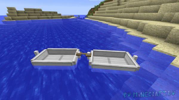 Moar Boats - улучшенные лодки [1.12.2]