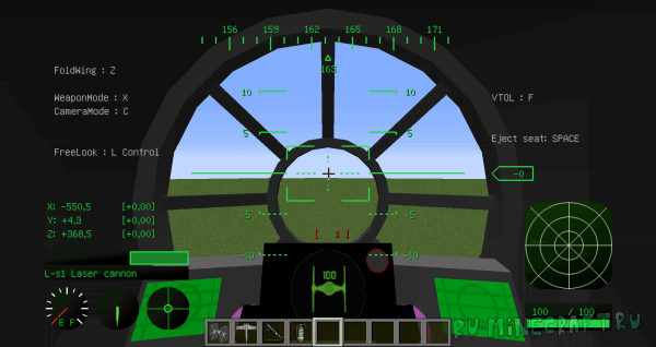Star Wars Contents Pack [1.7.10] [MCHeli]