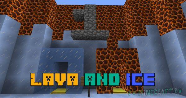 Паркур карта Lava and Ice [1.12.2]