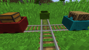 Charset Transport - Carts and Rails [1.12.2]