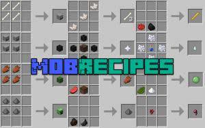 MobRecipes - крафт вещей без крафта [1.12.2] [1.11.2] [1.10.2]