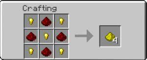 Craftable Glowstone - крафт светопыли [1.12.2] [1.8.9] [1.7.10]