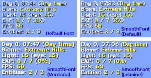 Smooth Font [1.12.2] [1.12.1] [1.10.2] [1.8.9] [1.7.10]