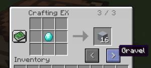 Crafting EX - выбираем крафт при дублировании [1.12.2] [1.11.2] [1.10.2] [1.7.10]