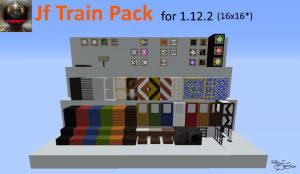 Jf Train and Railway [1.12.2] [16x16]
