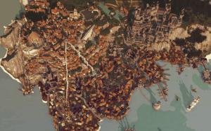 Карта Novigrad - большой средневековый город [1.12.2]
