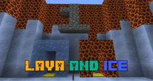 Паркур карта Lava and Ice [1.12.2]