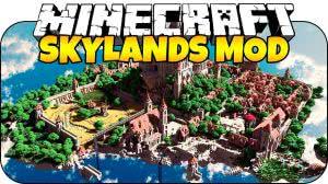 Skyland mod - измерение островов в небе [1.12.2] [1.11.2] [1.10.2] [1.7.10]
