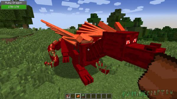 Dragon Mounts (Realm of The Dragons) - драконы [1.12.2] [1.11.2] [1.10.2] [1.8.9] [1.7.10]