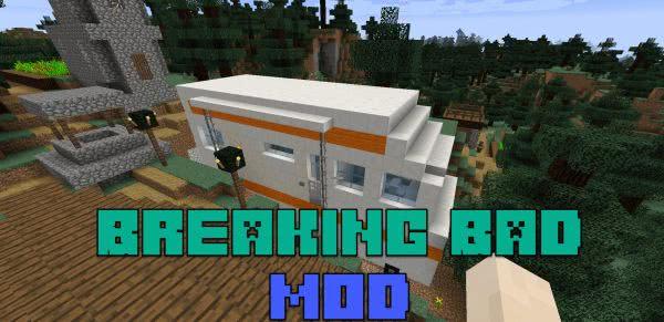 Breaking Bad mod - мет  из Во все тяжкие [1.12.2]
