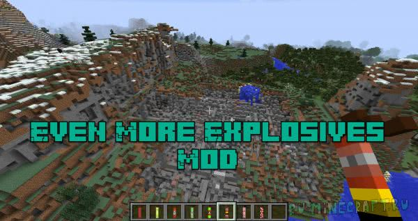 Even More Explosives Mod - новый динамит и бомбы [1.12.2]