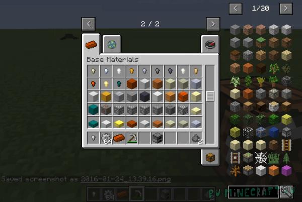 Substratum - руды и металлы [1.11.2] [1.10.2] [1.9.4] [1.8.9]