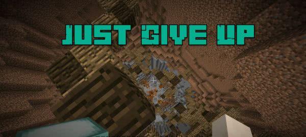 Just Give Up. - Очень сложная паркур карта [1.12.2]