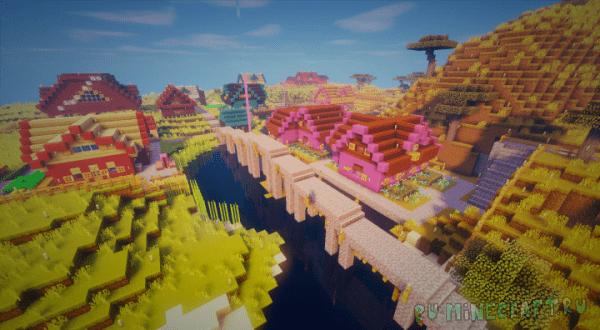 Terra Town - Разноцветная деревня [1.12.2]