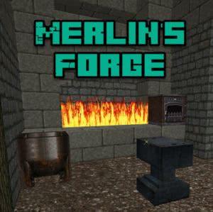 Merlin's Forge - магический стимпанк [1.12.2] [1.11.2]