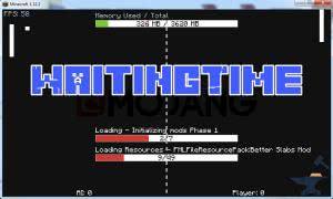 WaitingTime - мини игра при запуске игры [1.12.2]