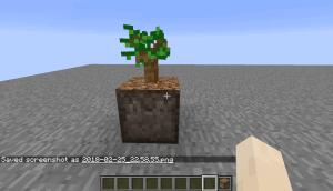 Planting dirt for saplings - земля сама садит деревья [1.16.2] [1.15.2] [1.14.4] [1.12.2]