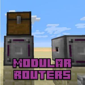 Modular Routers - универсальный блок [1.12.2] [1.11.2] [1.10.2]