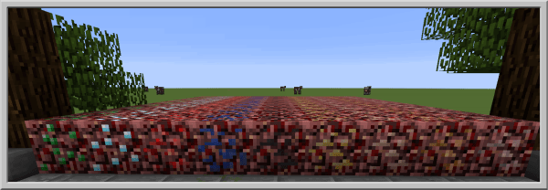 Basic Nether Ores - руды в аду [1.15.2] [1.14.4] [1.13.2] [1.12.2]