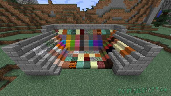 Vanilla Boom (Minecraft Boom) - новые блоки в ванильном стиле [1.16.1] [1.15.2] [1.14.4] [1.12.2]