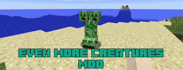 Even more Creatures Mod - новые монстры [1.12.2]
