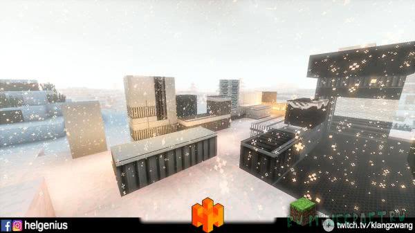 ZwangCraft - декор зданий будущего [1.12.2] [1.10.2]
