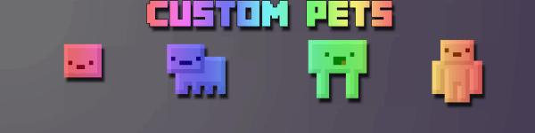 Custom Pets - животные в инвентаре [1.7.10]