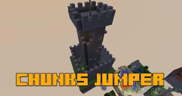 Карта Chunks Jumper - трудная паркур карта [1.12.2]