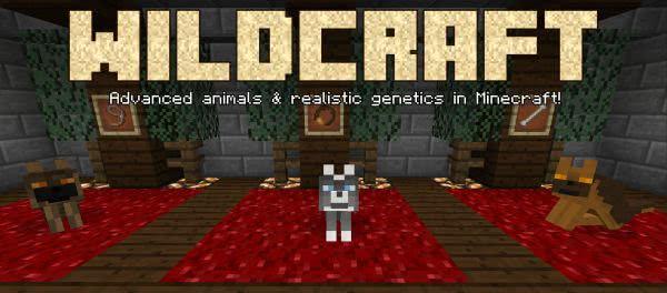WildCraft - генетика, улучшение волков [1.12.2] [1.11.2]