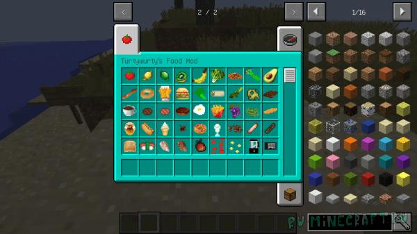 TurtyWurty's Food Mod [1.12.2]