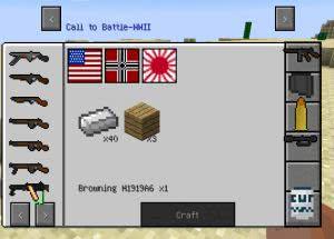 Call to battle 2 - 2 мировая война [1.7.10]