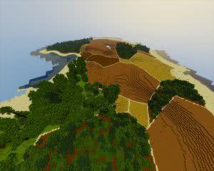 Biggest island - Карта для выживания [1.7.10 - 1.12]