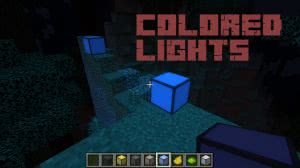 Colored Lights - свет разных цветов [1.12.2]