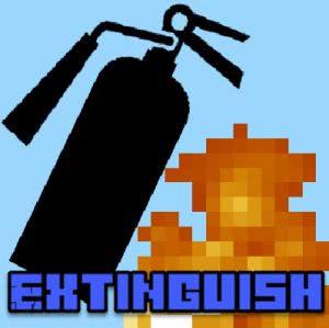 Extinguish mod - команда погасить огонь [1.12.2]