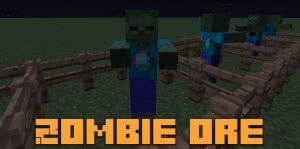 Zombie ore - зомби руды [1.7.10]