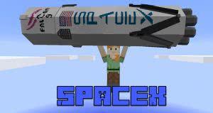 SpaceX mod - ракета Фалькон 9 [1.12.2] [1.11.2] [1.10.2] [1.8.9]