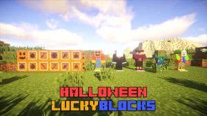Halloween LuckyBlocks - хеллоуин лаки блоки [1.12.2] [1.8]