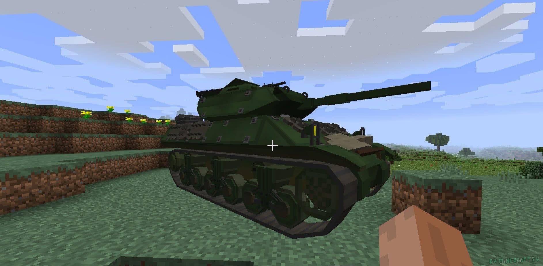 мод на майнкрафт 1.7.10 танки #7