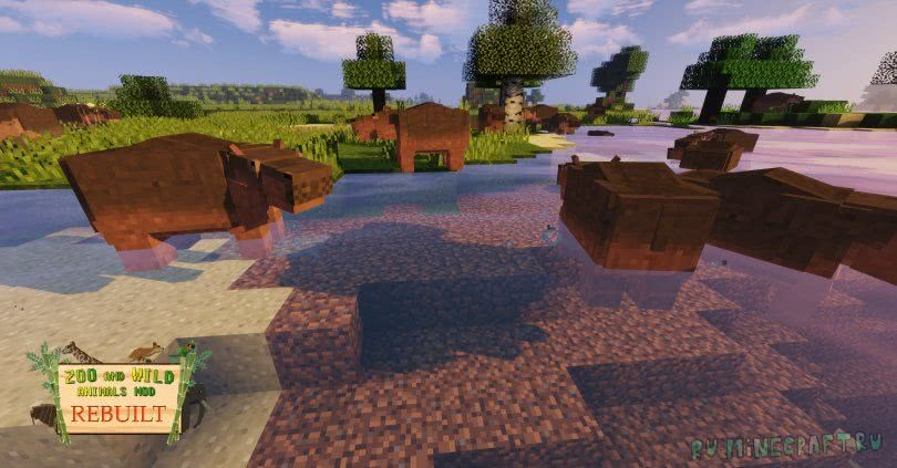 Animals mod 1 12 2 | Better Animal models mod for Minecraft 1 12 2