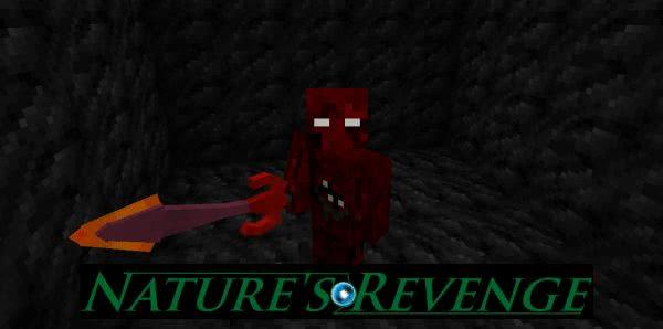 Nature's Revenge - проклятые мобы [1.7.10]
