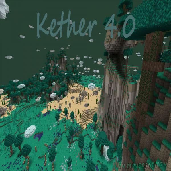 Kether mod - новый мир, инструменты, броня [1.12.2]