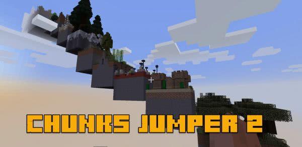 Chunks Jumper 2 - паркур в разных чанках [1.12.2]