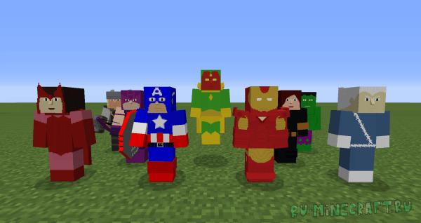 Project Superhuman - суперчеловек [1.7.10]